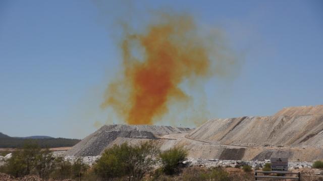 The  orange cloud of death